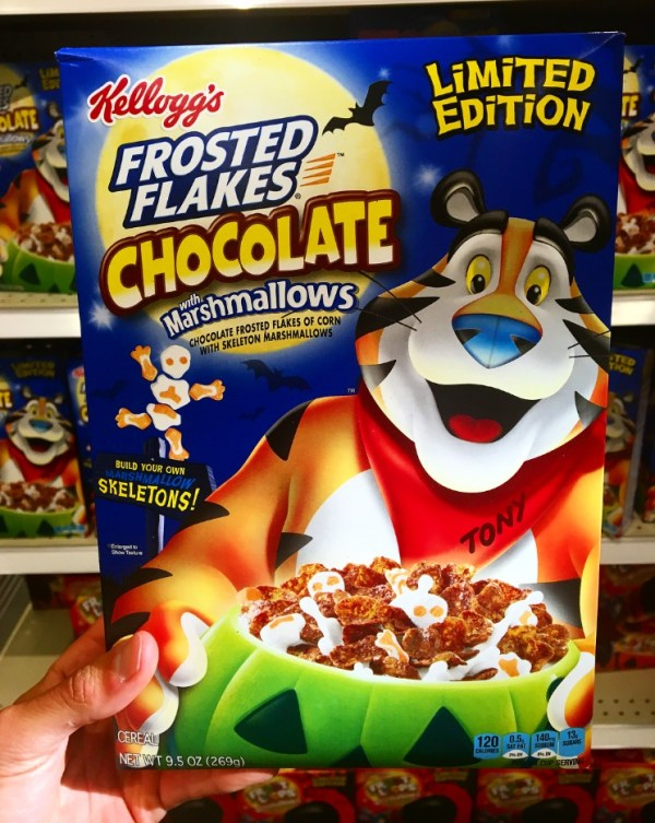 REVIEW Kellogg39s Frosted Flakes Chocolate with