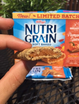 Kellogg's Pumpkin Spice Nutri-Grain Bar