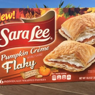 Sara Lee Pumpkin Creme Flaky