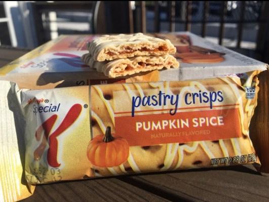 Kellogg's Pumpkin Spice Pastry Crisps