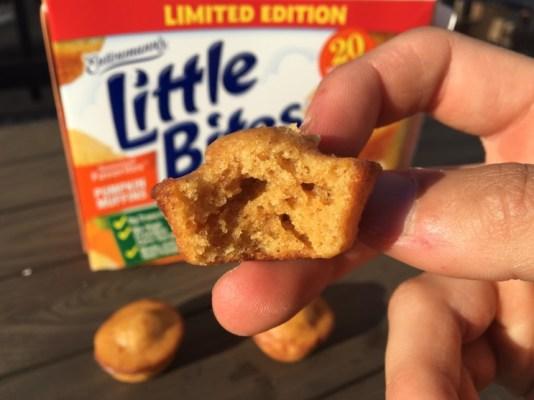 Entenmann's Pumpkin Muffins Little Bites