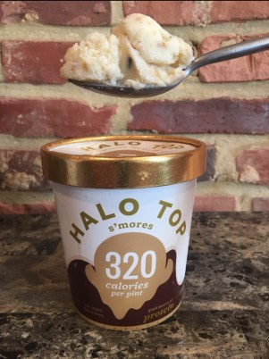 S'mores Halo Top.
