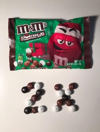 Double Chocolate M&M's