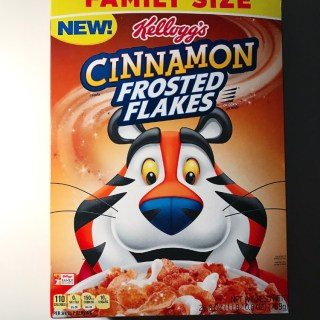 Kellogg's Cinnamon Frosted Flakes