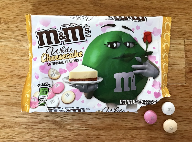 REVIEW: White Cheesecake M&M's