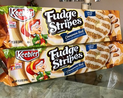 Keebler Cinnamon Roll Fudge Stripes