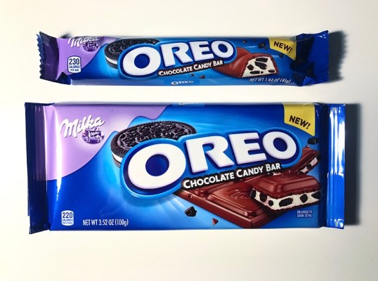 Milka Oreo Chocolate Candy Bars