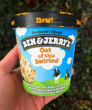 Ben & Jerry's Oat of this Swirled