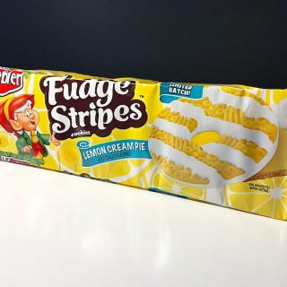 Keebler Lemon Cream Pie Fudge Stripes