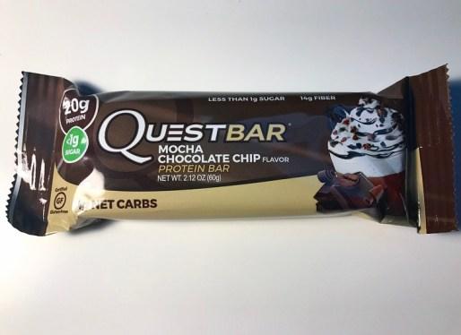 Mocha Chocolate Chip Quest Bar