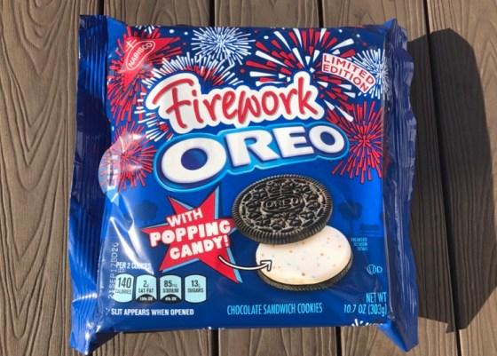Nabisco Fireworks Oreos