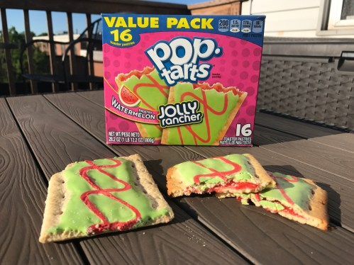 Kellogg's Frosted Watermelon Jolly Rancher Pop Tarts