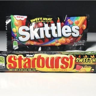Sweet Heat Skittles & Sweet Heat Starburst