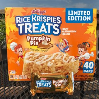 Kellogg's Pumpkin Pie Rice Krispies Treats