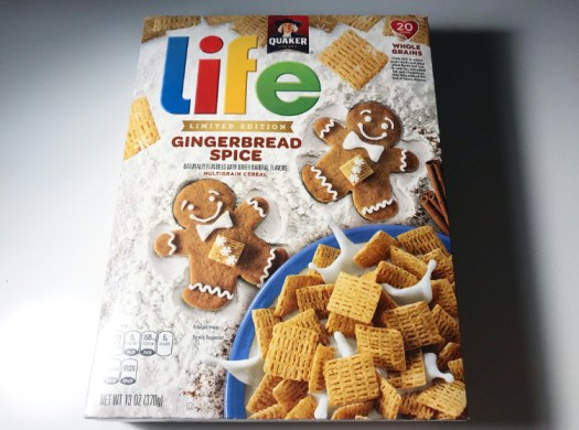 Quaker Gingerbread Spice Life Cereal