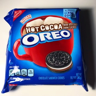 Nabisco Hot Cocoa Oreos