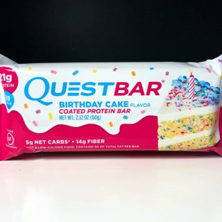 Birthday Cake Quest Bar