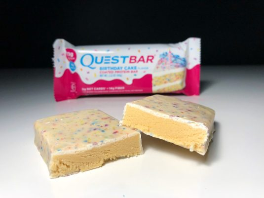 One Birthday Cake Protein Bar Review