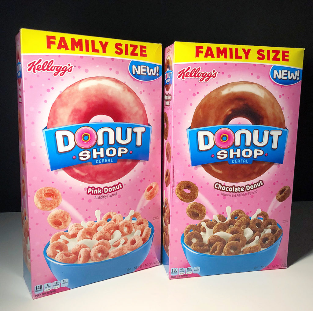 REVIEW: Kellogg's Donut Shop Cereal (Chocolate Donut