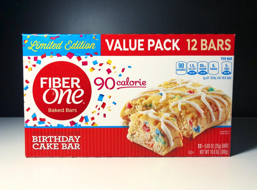 Outstanding Review Fiber One 90 Calorie Birthday Cake Bars Junk Banter Birthday Cards Printable Benkemecafe Filternl
