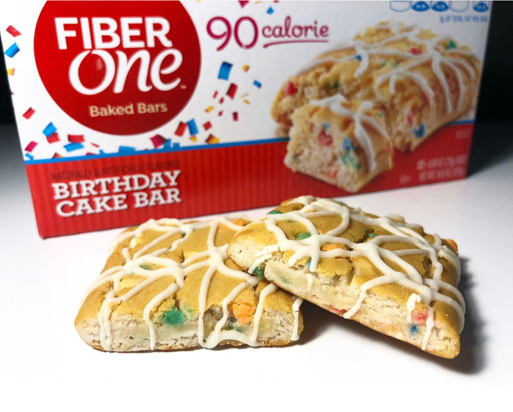 Fiber One 90 Calorie Birthday Cake Bars