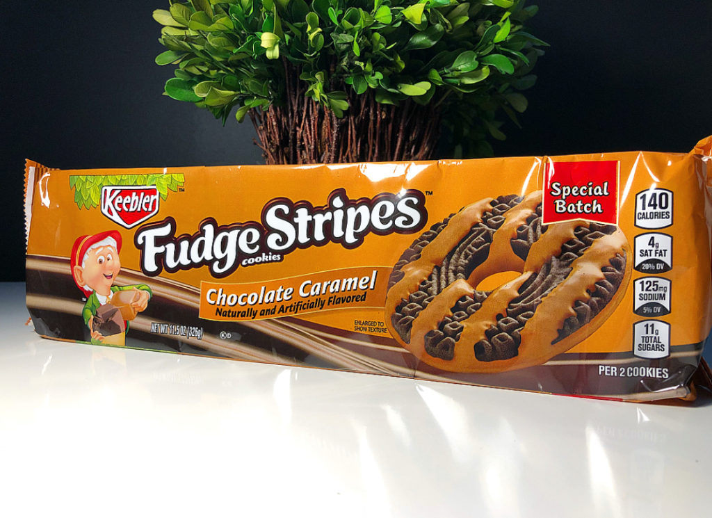 Keebler Chocolate Caramel Fudge Stripes