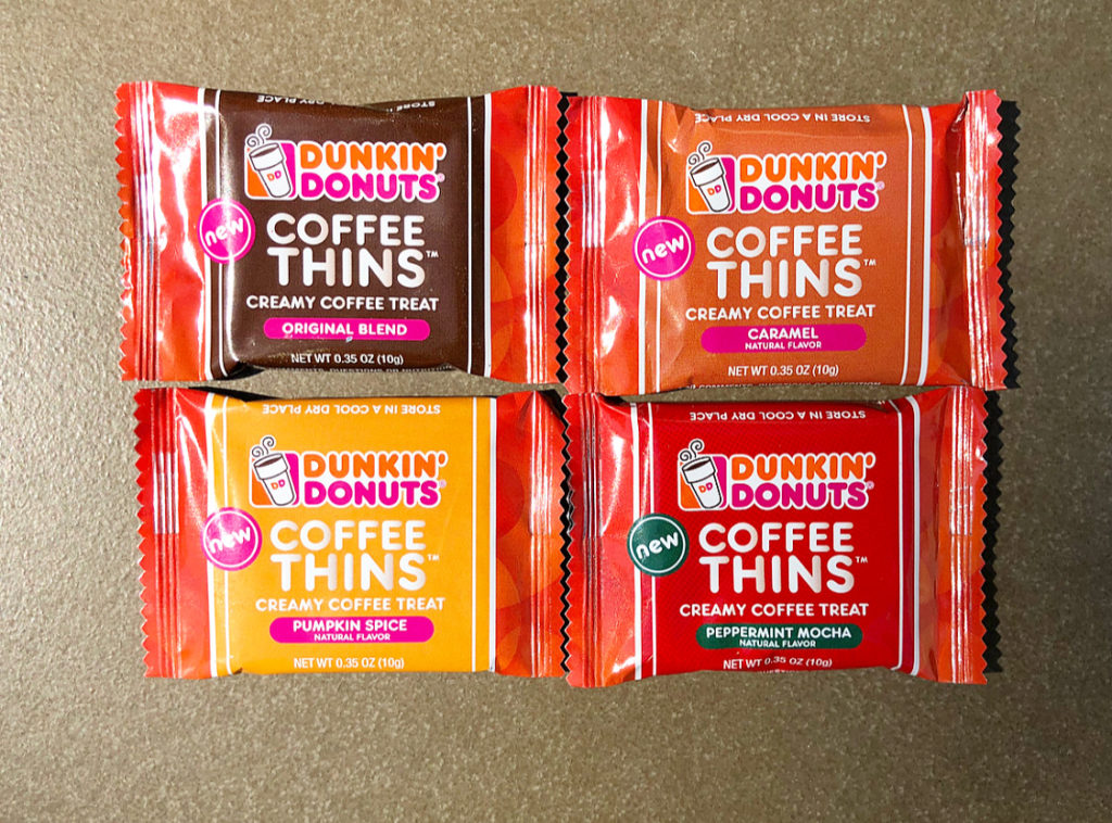 DUNKIN DONUTS COFFEE THINS