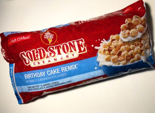 Review Malt O Meal Cold Stone Creamery Birthday Cake