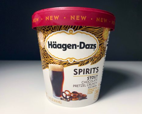 Häagen-Dazs Spirits Stout Chocolate Pretzel Crunch