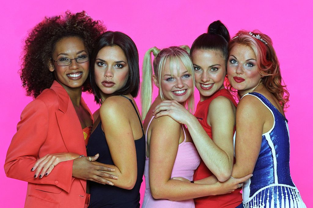 the spice girls are
