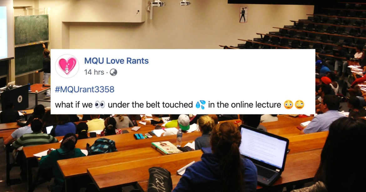 Aussie Lecturer Hilariously Calls Out Student Getting A Mid-Class Handjob