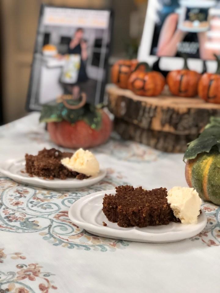 Pumpkin Spice Quinoa Rissotto