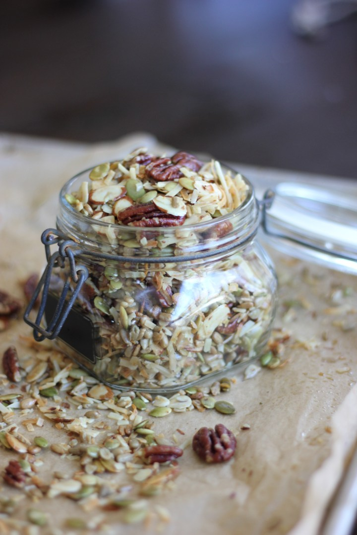 Blood Orange Low Carb Granola
