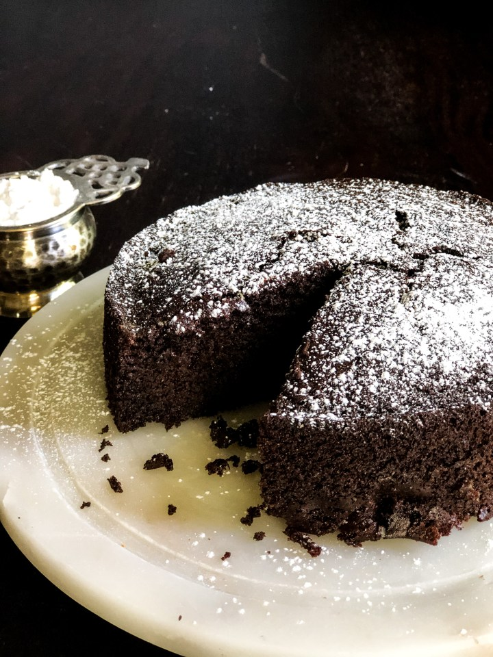 Gluten Free Spiced Chocolate Cake