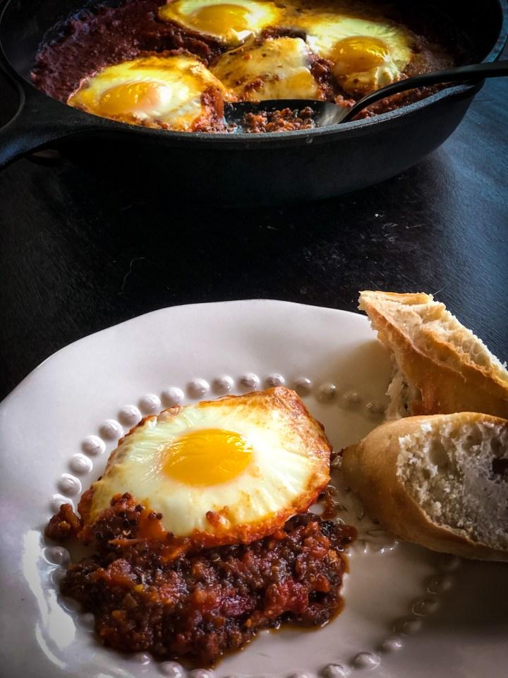 Italian Baked Eggs