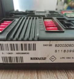 brand new renault scenic megane fuse box [ 1440 x 1080 Pixel ]