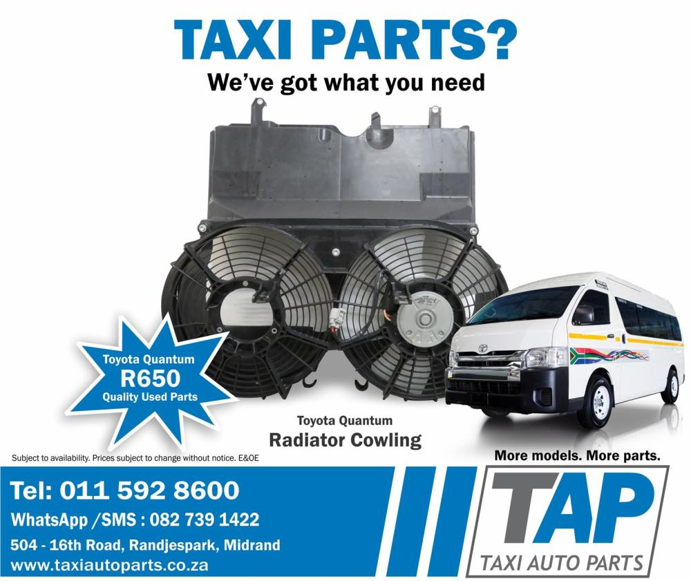 medium resolution of toyota quantum radiator cowling fan shroud quality used taxi spares for sale at taxi