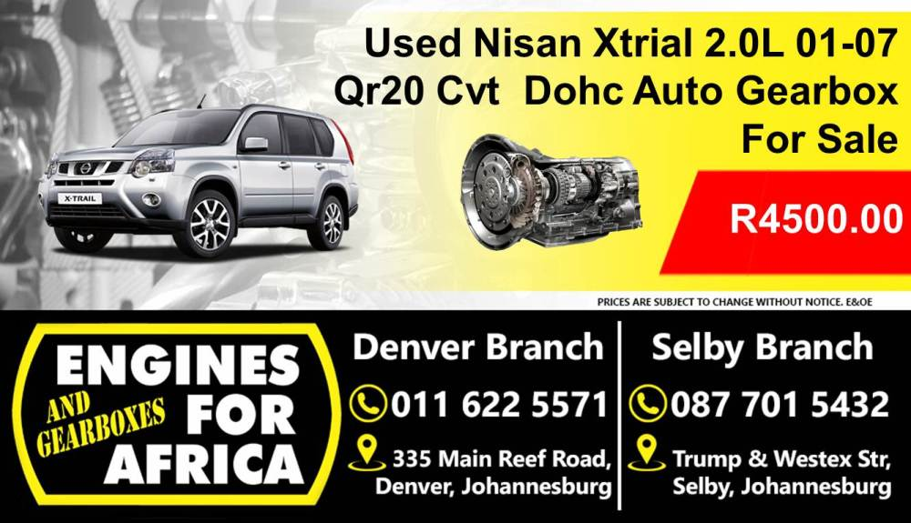 medium resolution of used nissan xtrial 2 0l dohc 01 07 qr20 cvt auto gearbox for sale junk mail