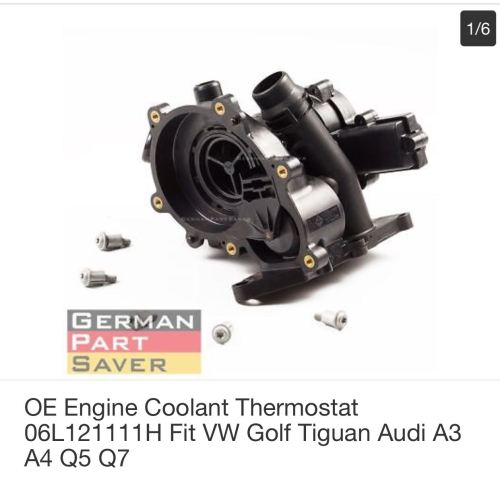 small resolution of thermostat housing for vw golf 7 audi a3 a4 a5 a6 a7