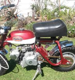 honda classic monkey bikes [ 1820 x 1024 Pixel ]