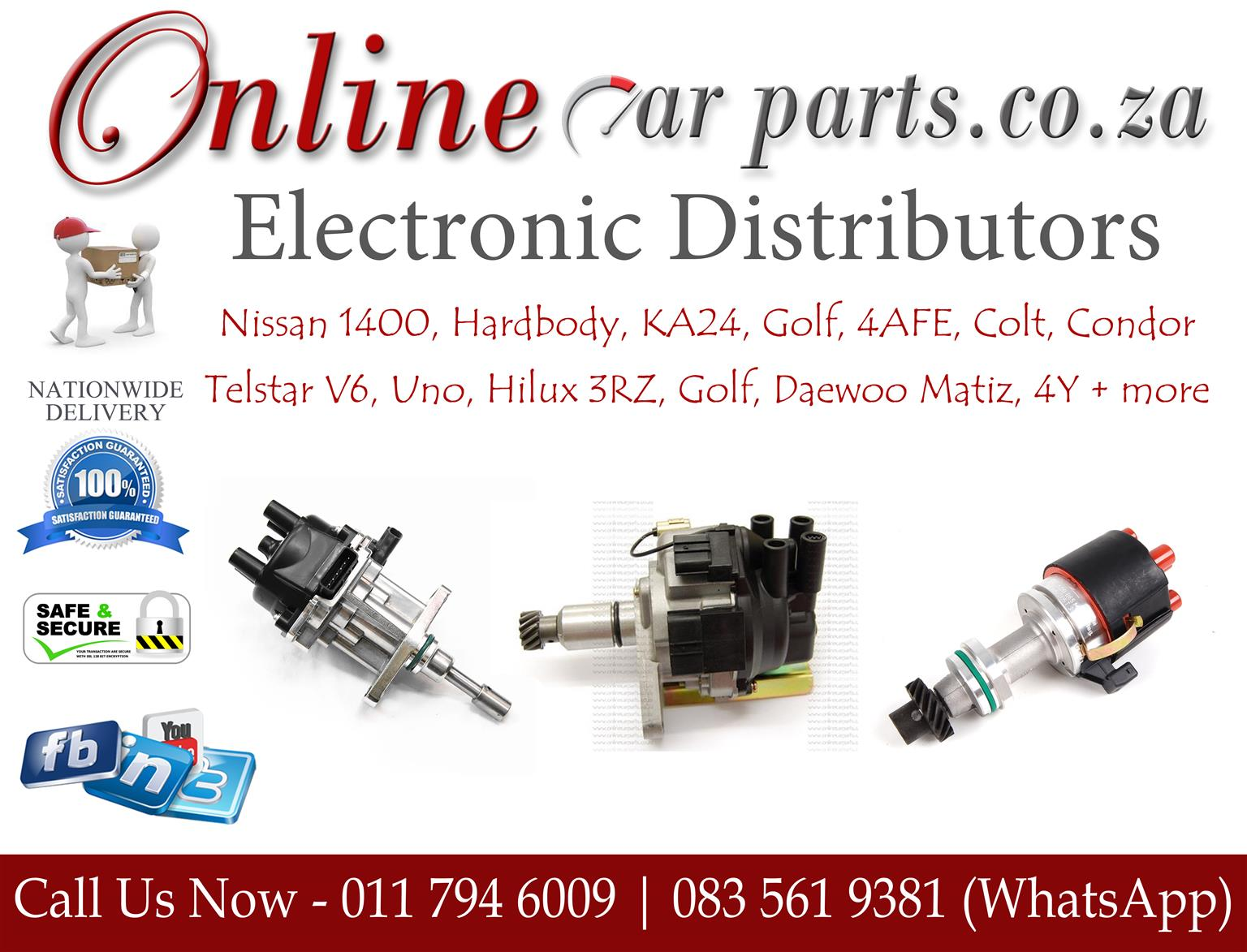 4y electronic distributor wiring diagram cooper 3 way switch high quality distributors points condenser modules rotors ignition leads caps