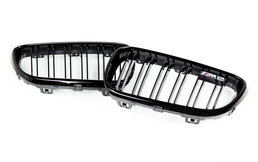 BMW 2 Series M2 Style (F22/F23) Front Dual Spoke Grille