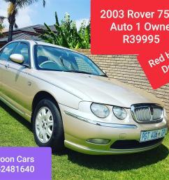 2003 rover 75 2 5 v6 tourer connoisser se [ 1536 x 1152 Pixel ]