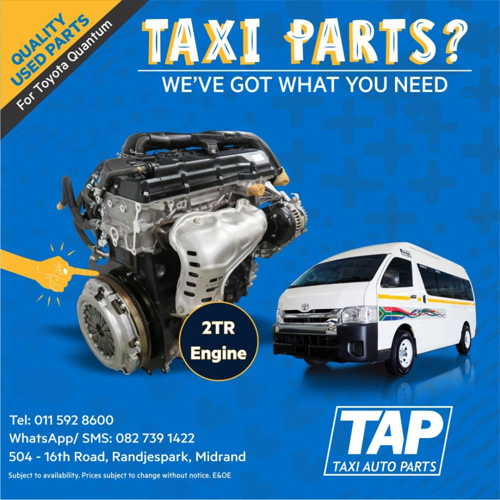 medium resolution of 2tr petrol engine for toyota quantum taxi auto parts quality used parts tap