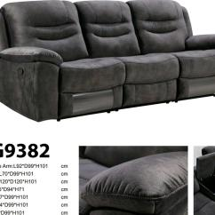 Electric Sofa Set Accent Pillows For Taupe Lounge Suite Genuine Leather Uppers 3 Motion Wireless Speaker