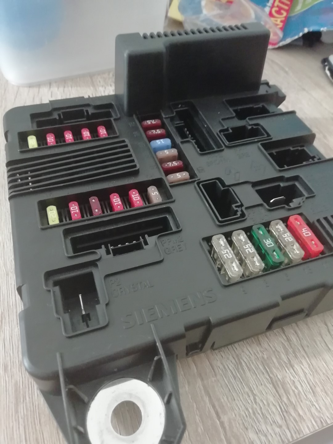 hight resolution of brand new renault scenic megane fuse box