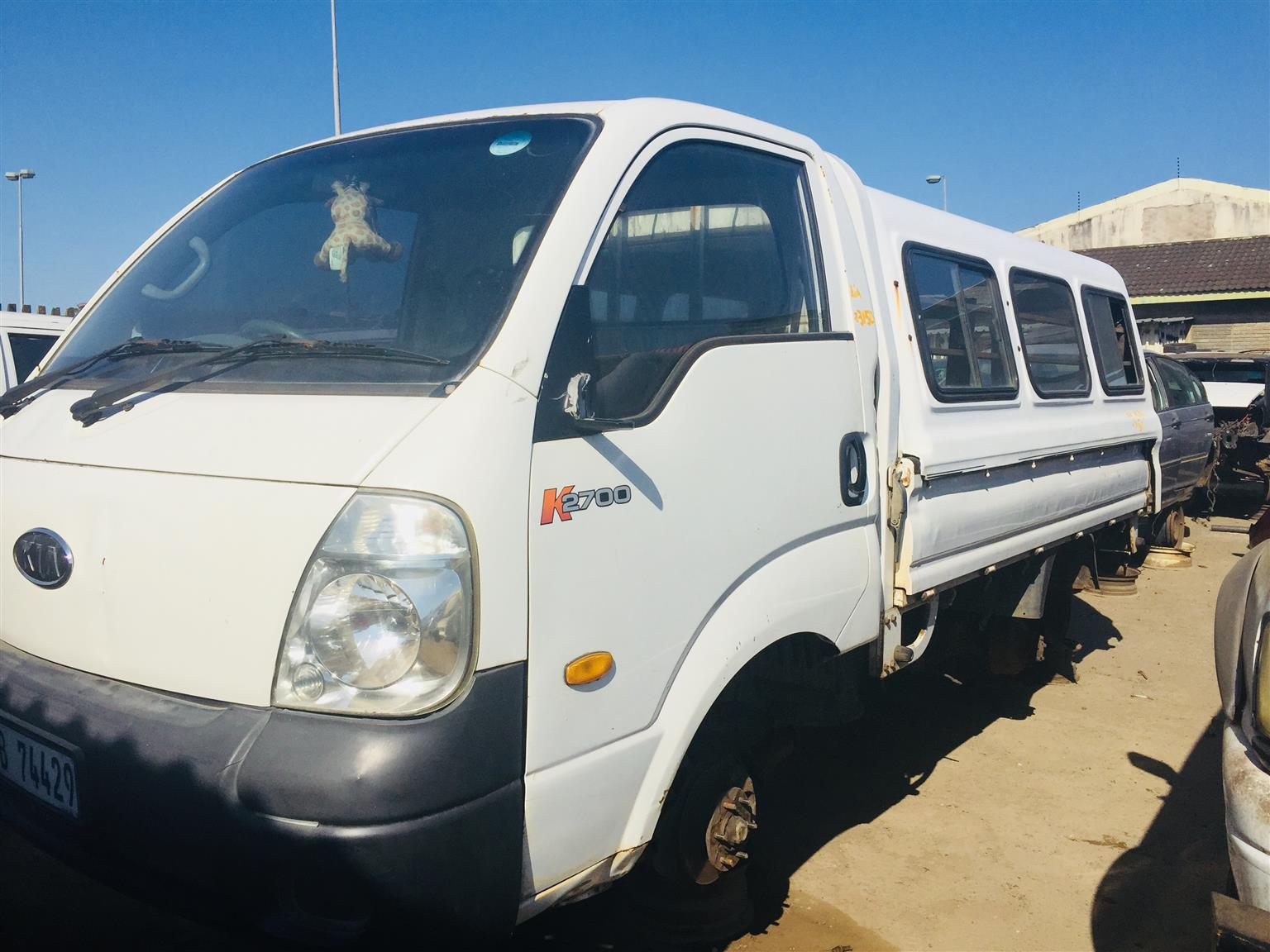 hight resolution of 2007 kia k2700 stripping for spares