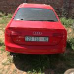 Stripping A Audi A4 Tfsi B8 Facelift Red 2015 For Parts Call Or Whatsapp On 0763800287 Junk Mail