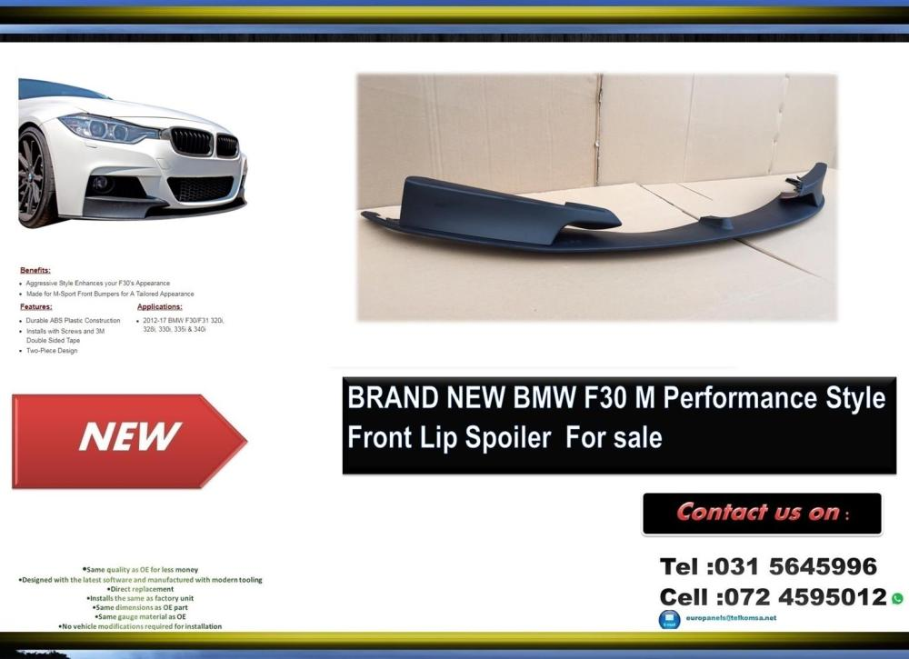 medium resolution of bmw f30 brand new plastic m performance style front lip spoiler for sale price