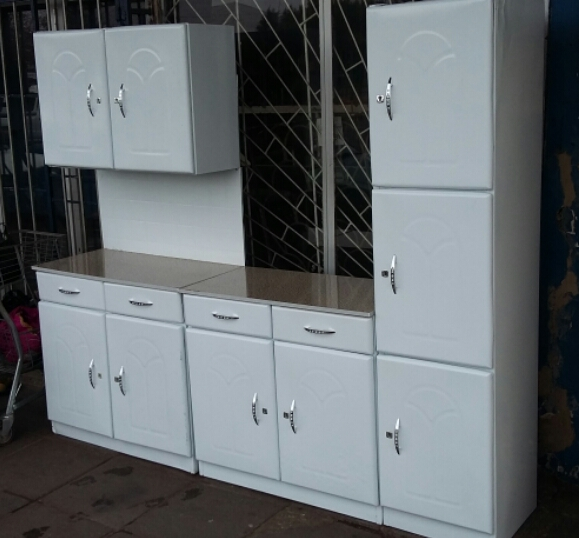 3 piece kitchen set classic sink new cupboards junk mail